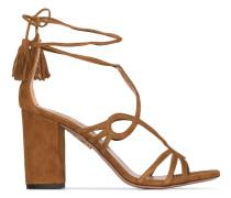 'Gitana 85' Sandalen aus Wildleder