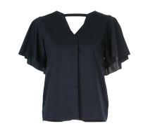 short-sleeve shift blouse