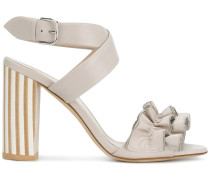 ruffle detail sandals