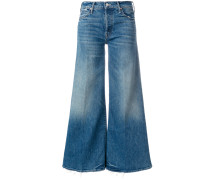The Stunner Roller high waist cropped flare jeans