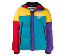 Daunenjacke in Colour-Block-Optik