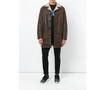 Mantel mit Pelzfutter