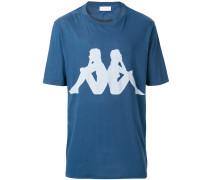 x Kappa T-Shirt mit Logo-Print