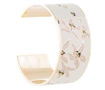 Printed enamel cuff bracelet