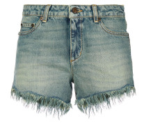Shorts in Distressed-Optik