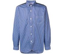 Button-Down-Hemd mit Karomuster