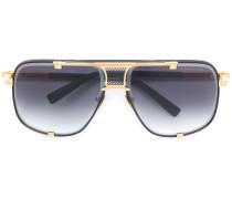 Pilotenbrille mit quadratischem Gestell