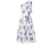 Bedrucktes Kleid mit Falten