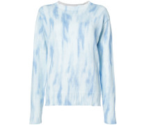 'Courtney' Pullover mit Batikmuster