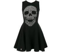 Kleid mit Totenkopf-Print