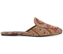 'Liza' Kordmules mit Paisley-Muster