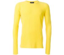 Gerippter Kaschmir-Pullover