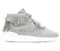 High-Top-Sneakers mit Flatform-Sohle