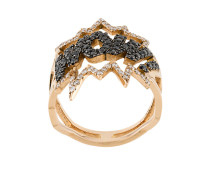 18kt 'Wow' Rotgoldring