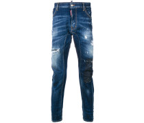 'Tidy Biker' Distressed-Jeans