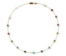 18kt  Lollipop Station necklace