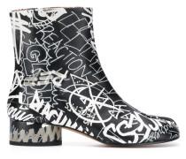 Tabi-Stiefel mit Print