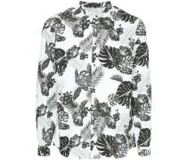 Hemd mit botanischem Muster