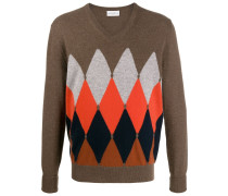 Pullover mit Argyle-Muster