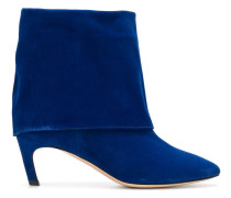 cuff-detail ankle boots