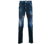 'Cool Guy' Jeans mit Farbklecksen