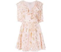 Riviera ruffle wrap dress