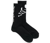 skull detail socks