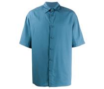 Kurzärmeliges Oversized-Hemd