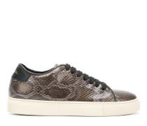 snakeskin-effect sneakers