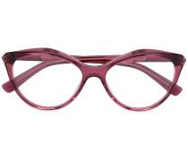 Brille mit Cat-Eye-Gestell