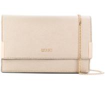 Isola classic flap shoulder bag