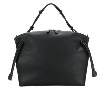 zipped shoulder bag