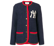 Cardigan with New York Yankees ™ patch