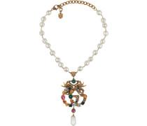 Halskette mit Kristall-GG