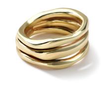 Squiggle Ring in 18K