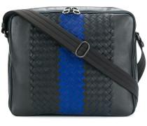 tourmaline Intrecciato nappa messenger bag - Unavailable