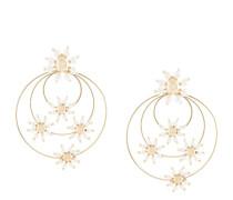 'Daisy' Ohrringe mit Kunstperle
