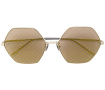 hexagonal shaped sunglasses