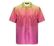 'Dean' Hemd mit Farbverlauf
