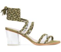'Velvet' Sandalen mit Knöchelriemen
