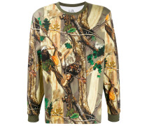 Sweatshirt mit Natur-Print