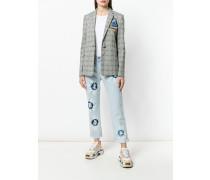 Jeans in Batik-Optik