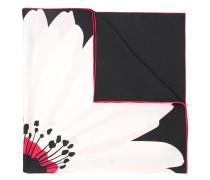 Schal mit Blumen-Print