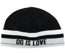 """Mütze mit """"DG is Love""""-Schriftzug"""
