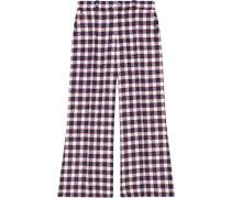 Karierte Tweed-Culottes