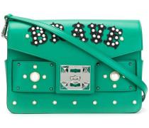embellished satchel