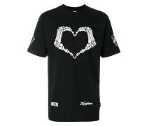Heart skeleton T-shirt