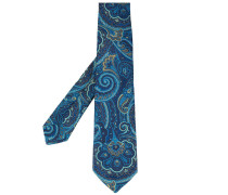 Jacquard-Krawatte mit Paisleymuster