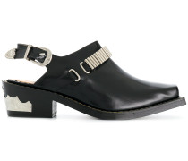 buckle strapped shoes