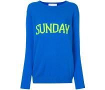 'Sunday' Intarsien-Pullover